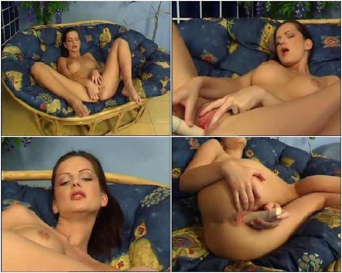 356 - Pleasuring Her Pink Pussy
