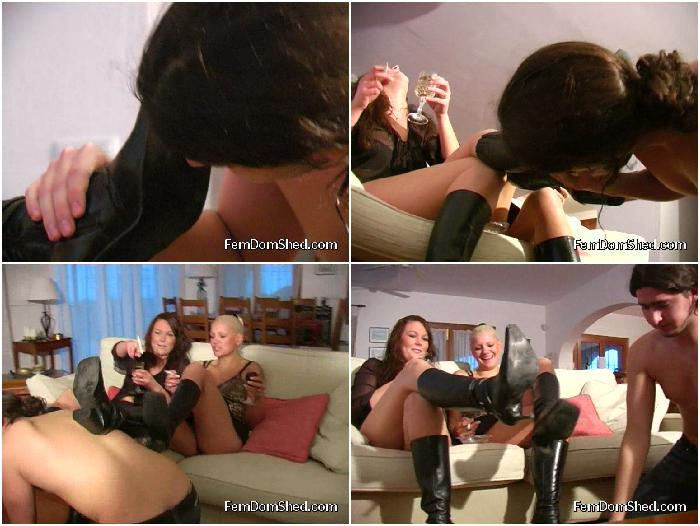 Bratty Princess Twisted Princess Clean our dirty boots