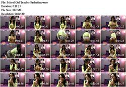School Girl Teacher Seduction