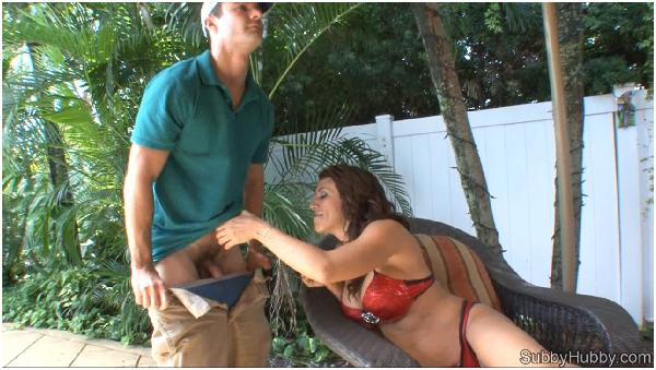 The Pool Boy Gets Cucked - Pussy Eating