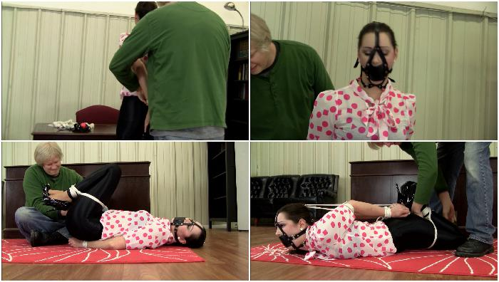 Belle.Davis-Hogtied.Frogtie.And.Ballgagged.XXX.HR.MP4-hUSHhUSH