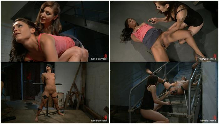 2012-11-04 8035 Jade Indica gets Spanked and Shocked in hot Lesbian BDSM Scene Princess Donna Dolore...
