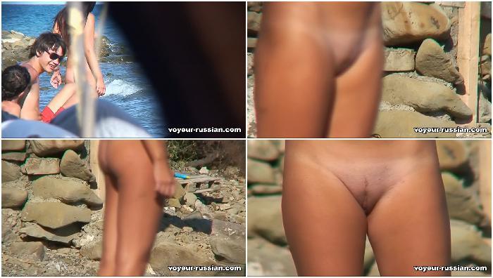 Russian nudism voyeur
