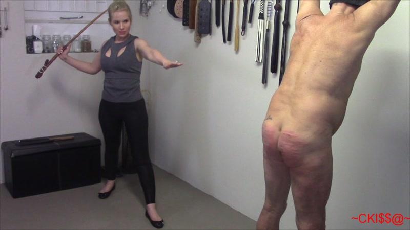 femdom spanking strapon training free