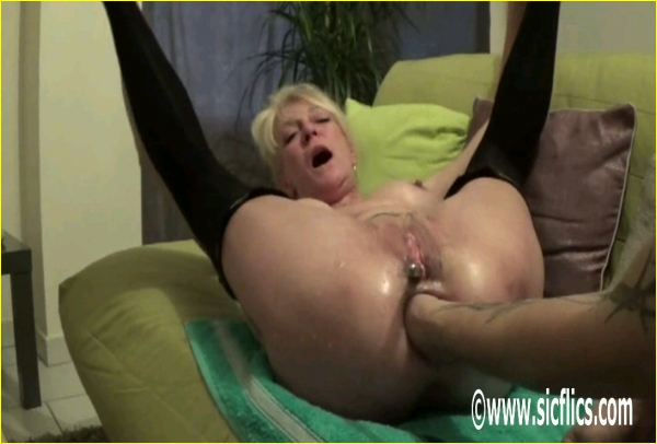 Violently fisted by husband extreme rough painful 1