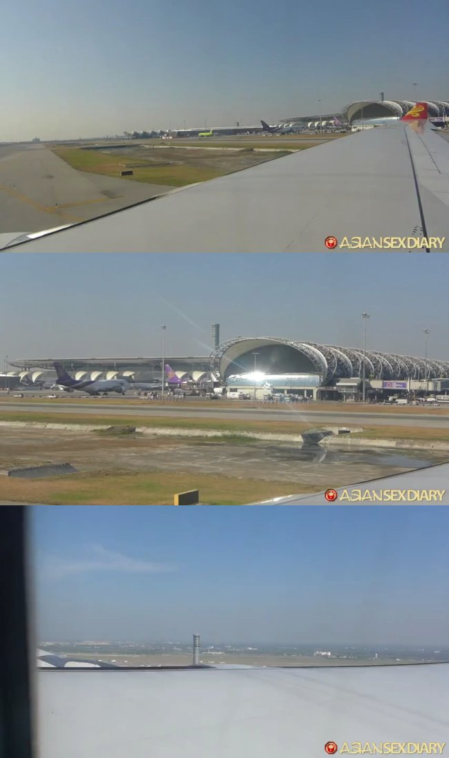 AsianSexDiary - Flight Bangkok To Hk Then To China