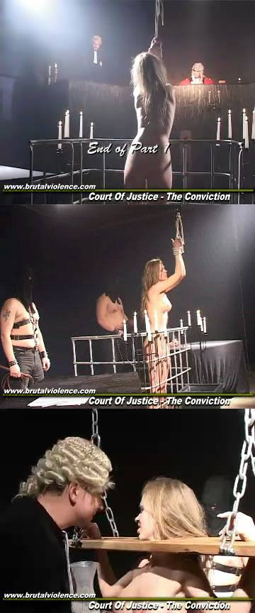 Court of Justice - Conviction