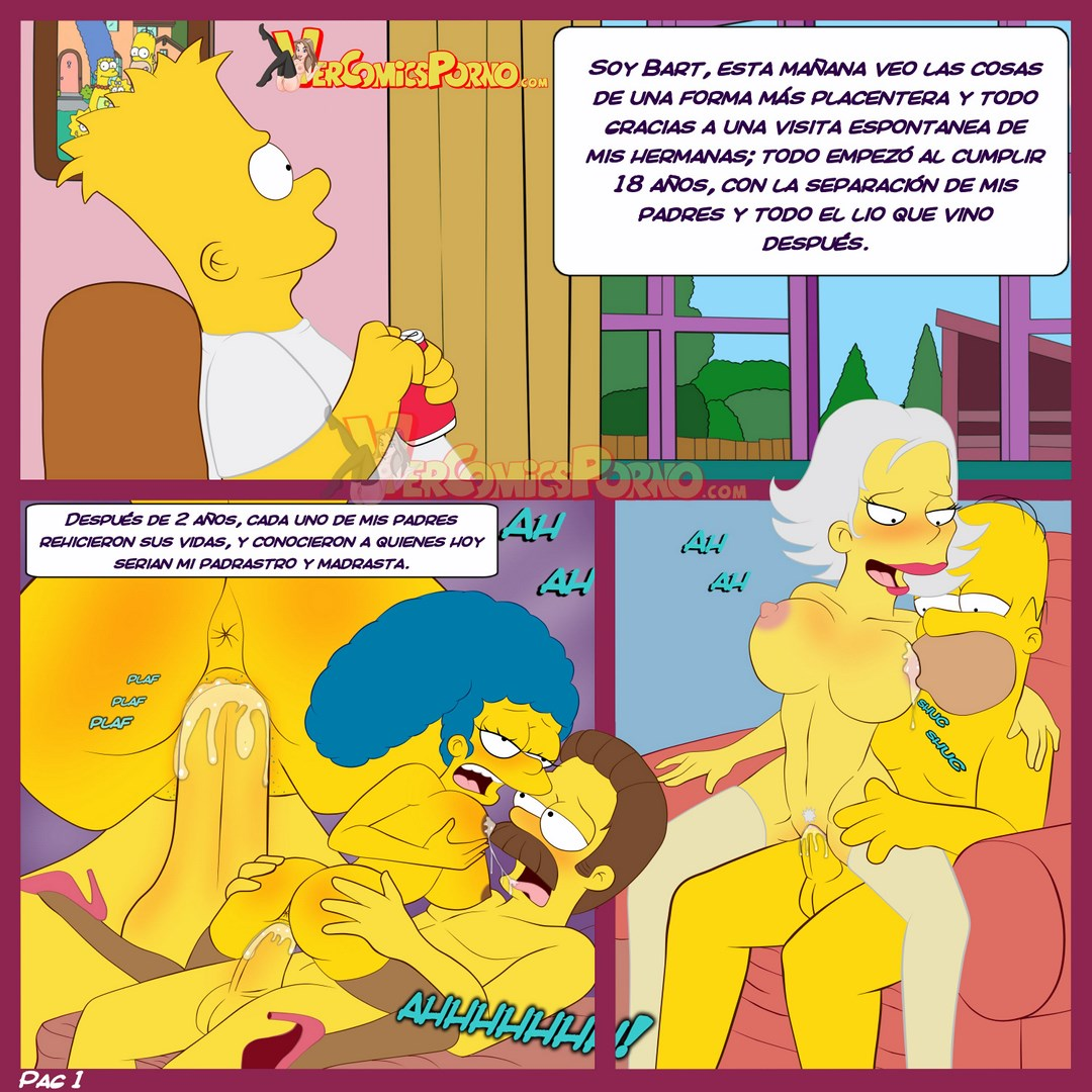 comics porno los simpsons