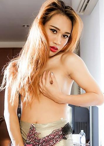 Gorgeous Thai tgirl Spoii is a sexy girl