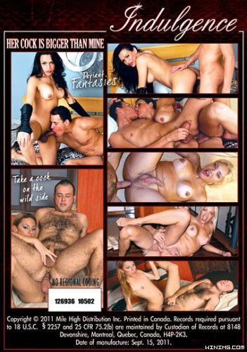 Her Cock Is Bigger Than Mine (2012) - TS vana Spears, Gisele Carioca