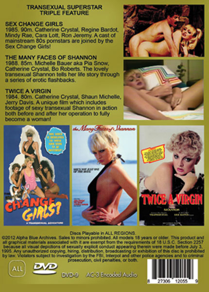 Transexual Superstars Triple Feature (2013) - TS Angelique Ricard