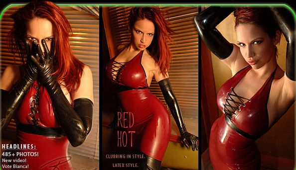RED HOT - Latex Sex