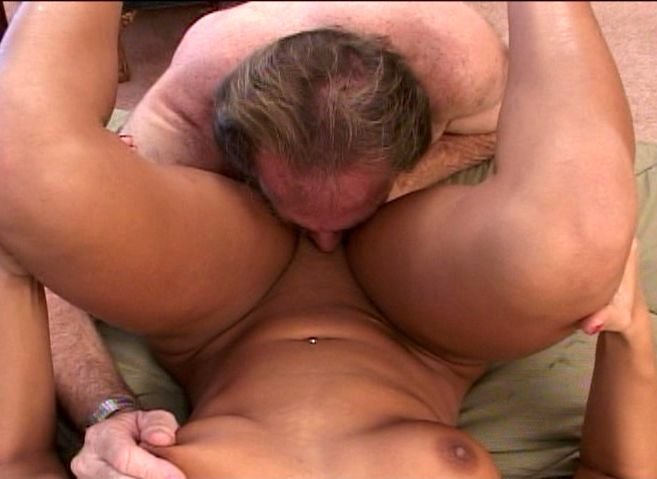 Old Dicks, College hottie loves big old - Old Man and Teen