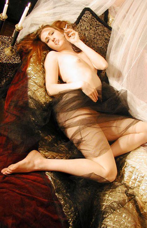 Julie Simone Elegant Smoke - Smoking Sex
