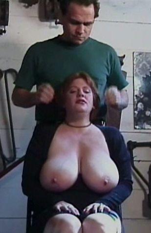 Master loves big bound hooters - Bondage, BDSM