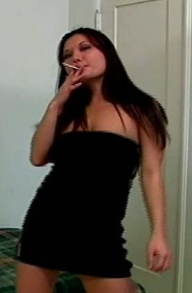 Assfucked and toy-teased smoker - Smoking Sex