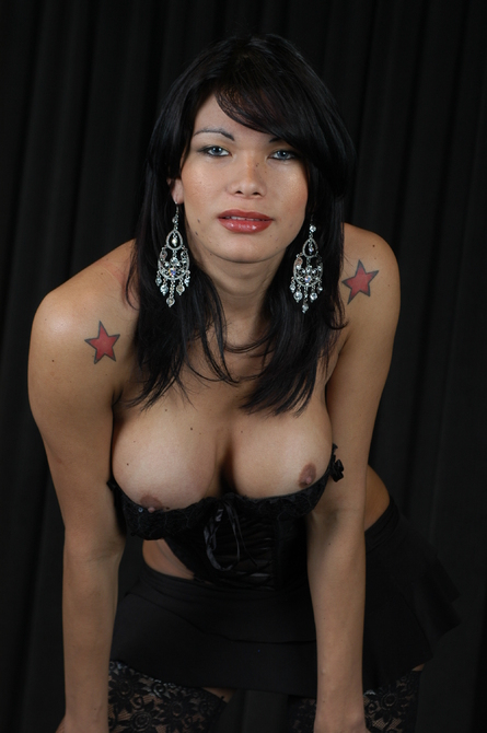 Michelle is one, tall, exotic tranny - TS Michelle