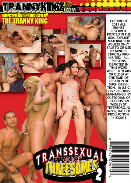 Transsexual Big Dick Threesomes 2 (2011)
