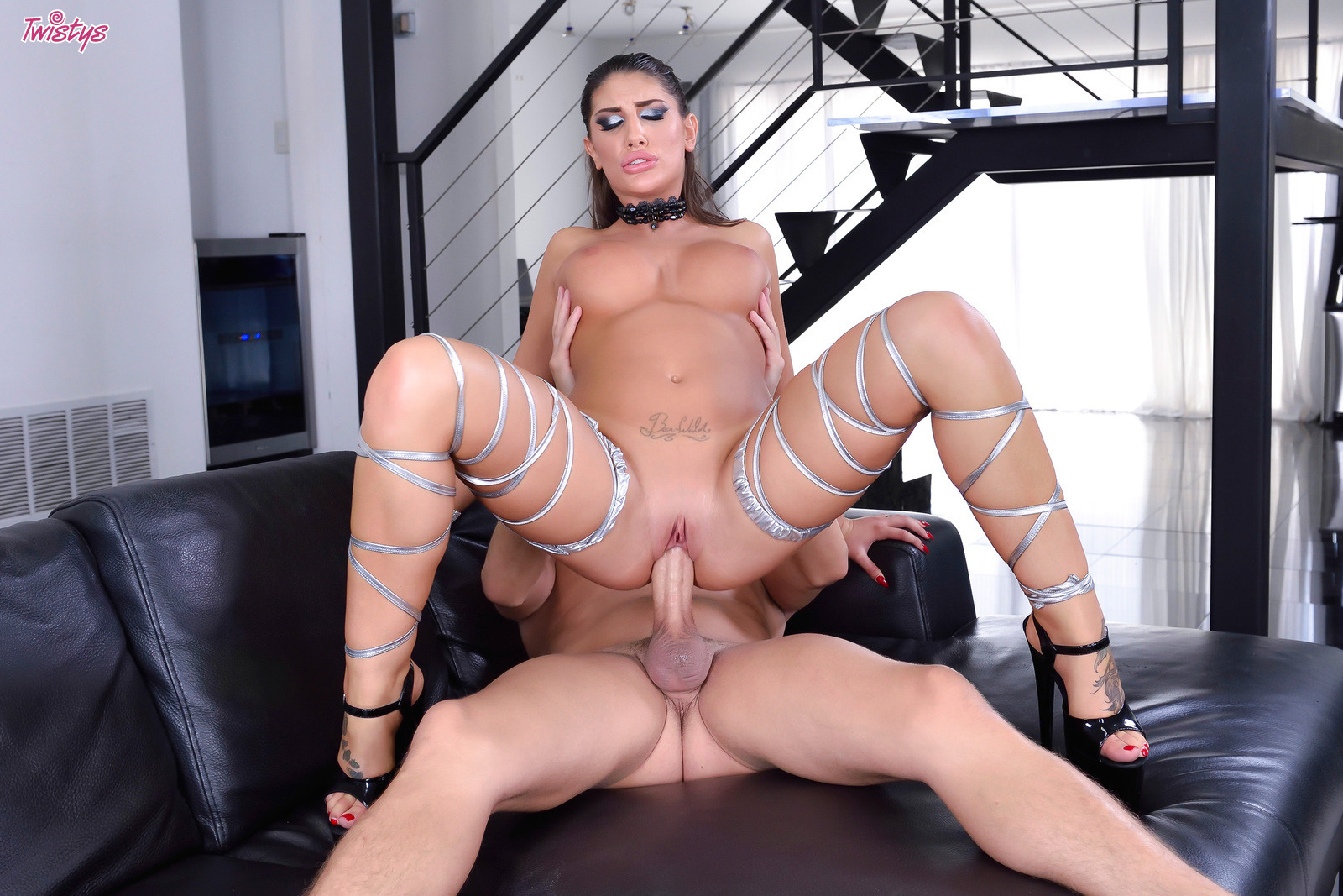 August ames reverse cowgirl