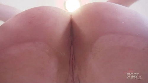 Dakota's Asshole facesitting POV