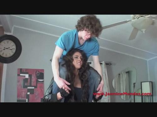 Jasmine bear hugs Torture