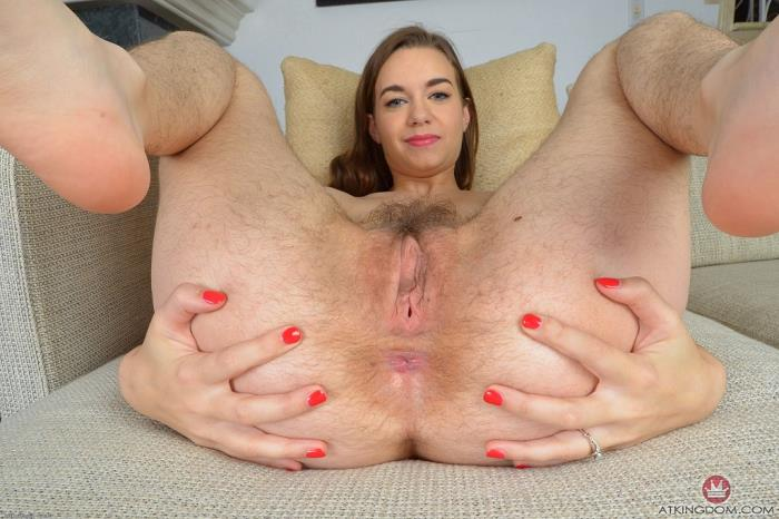 Tali dova039s hairy pussy catches all of your cum on the date