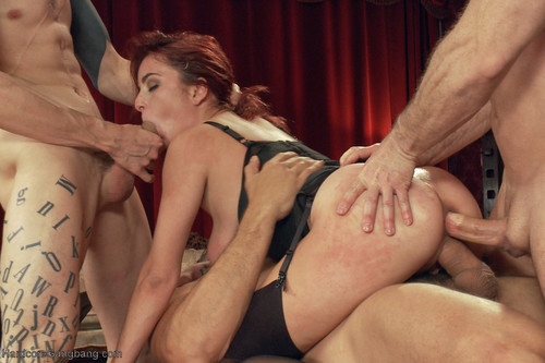 HardcoreGangBang / Kink - Ashlee Graham - High End Slut services BDSM Gentlemen's Club!! [SD 360p]