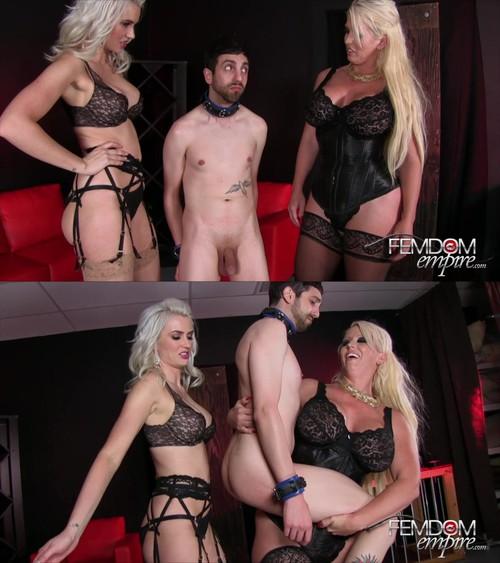 Alura Jensen & Gigi Allens - Blonde Amazon Bullies [HD 720p] - FemdomEmpire.com