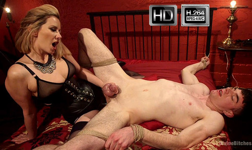 D1v1n3B1tch3s.com/Kink.com - Maitresse Madeline Marlowe and Artemis Faux - Fuck You Like I Mean It [HD 720p]
