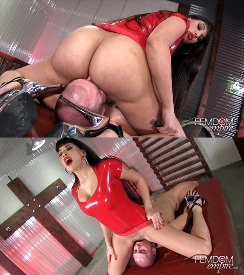 Mercedes Carrera - Less Breathing, More Licking! [FullHD 1080p] (FemdomEmpire)