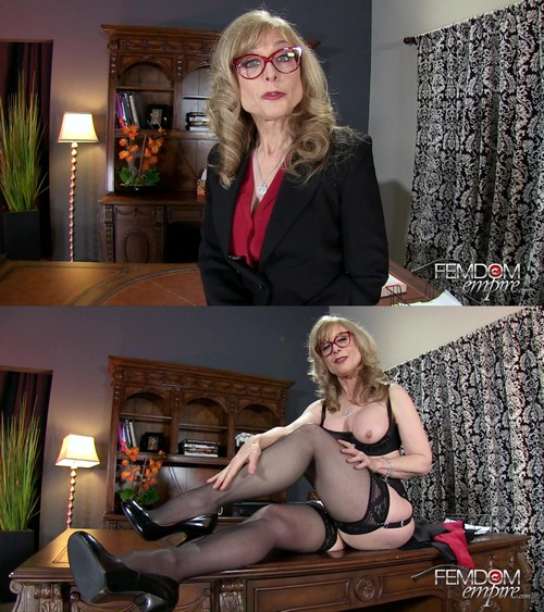 Nina Hartley - Job Interview JOI Test [FullHD 1080p] (FemdomEmpire)
