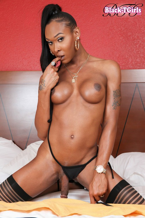Kayla Biggs - Solo [HD 720p] (Black-TGirls)