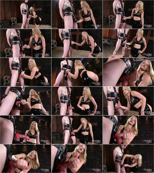 Anikka Albrite - Rubber Chastity Release [FullHD 1080p] (FemdomEmpire)