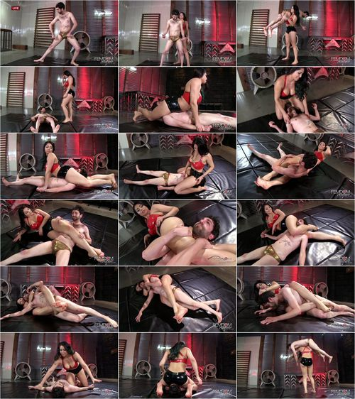 Jasmine Mendez - Manhandled Wimp [FullHD 1080p] (FemdomEmpire)