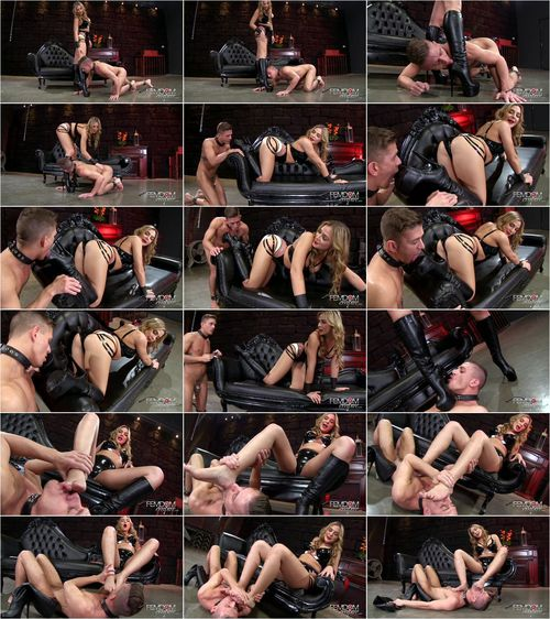 Blaire Williams - Amazonian Boot Cleaning [FullHD 1080p] (FemdomEmpire)