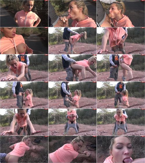 Lana-Giselle - Teenie-Fick beim Joggen im Wald [HD 720p] (MDH)