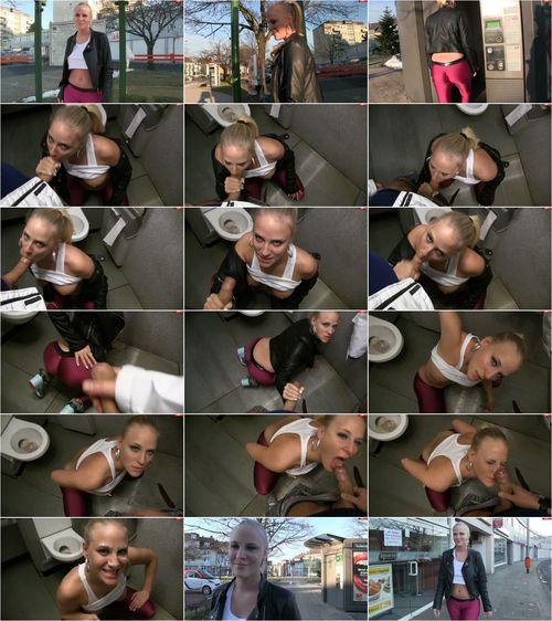 Lara-CumKitten - Spermawalk - Schwanzgeil im offentlichen WC [FullHD 1080p] (MDH)