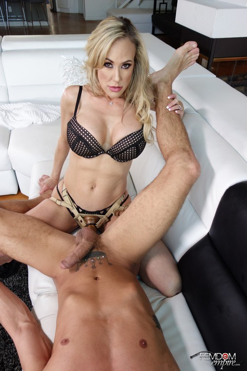Brandi Love - Stepmom's Strap-on Punishment [FullHD 1080p] (FemdomEmpire)