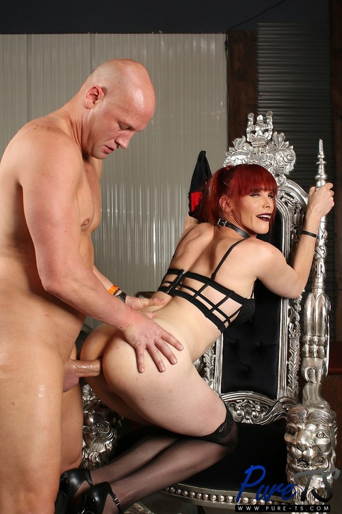 Staci Miguire - Dominatrix Staci Wants to Be Fucked Hard After a Session [HD 720p] (Pure-TS)