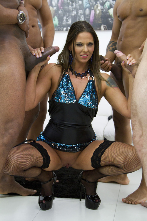 Simony Diamond - Simony Diamond interracial double anal for stunning MILF slut SZ1055 [SD 480p] (LegalPorno)