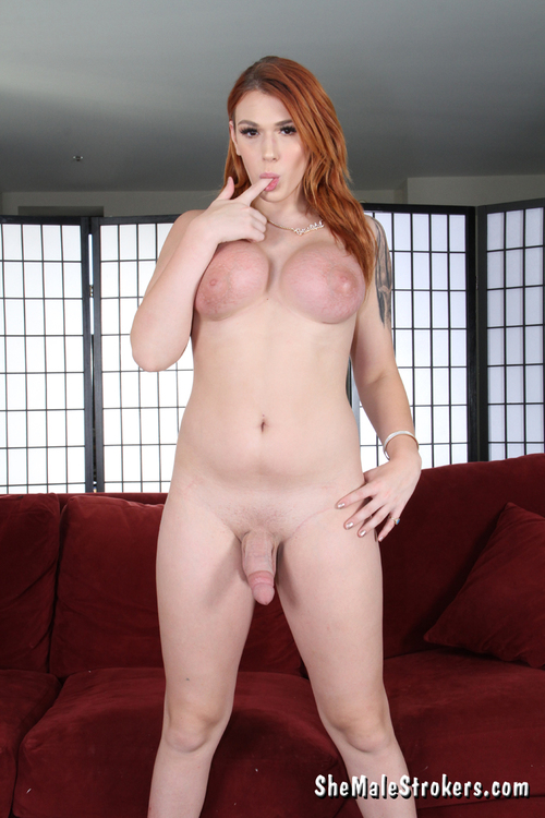 Ts Aspen Brooks - Solo [SD 540p] (SheMaleStrokers)