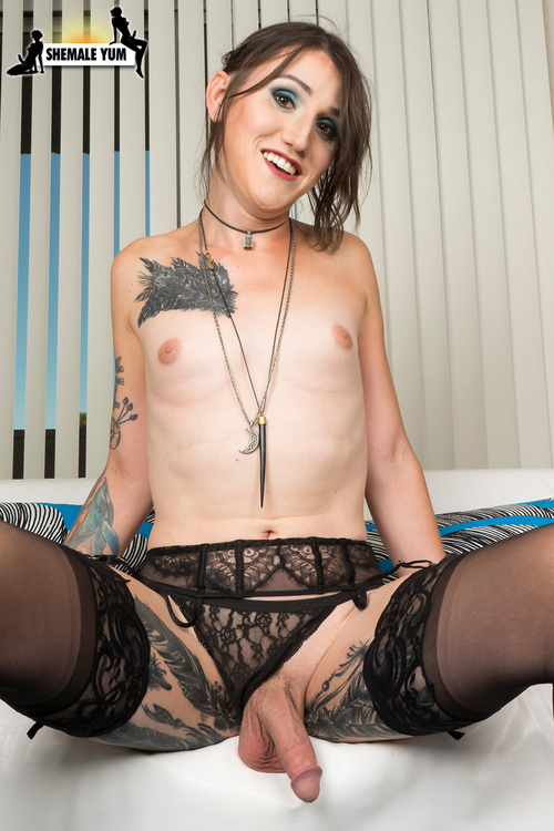 Lucy Jade - Meet Naughty Tattooed Angel Lucy Jade! [FullHD 1080p] (ShemaleYum)