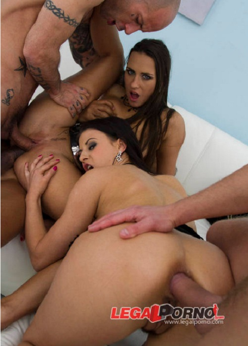 L3g4lP0rn0.com - Mea Melone, Billy Star - Mea Melone and Billy Star double anal with 3 guys (hot euro sluts got DAPed) SZ805 [HD 720p]