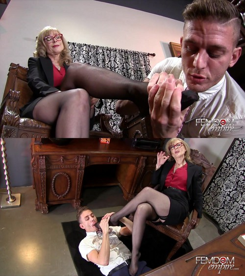 Nina Hartley - My Male Secretary