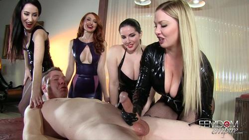 Alexandra Snow, Kendra James, Lexi Sindel, Mina Thorne - Premature Orgasm Ruiner