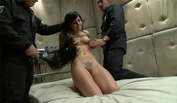 College girls fucking two cocks