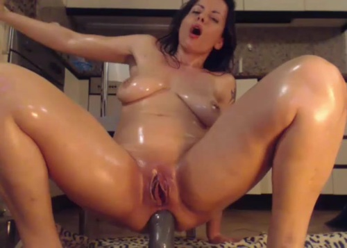 Clit fist anal squirting