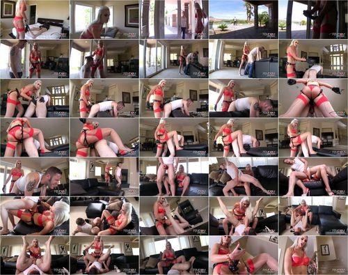 Gigi allens pegged pool boy teaser femdom empire 10