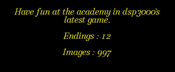 academy1info - The Academy Part 1 (vdategames) [April 8, 2016] - XXX GAME