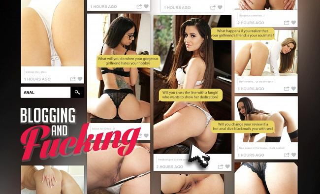 Blogging and Fucking [LifeSelector,lifeselector] (2016)